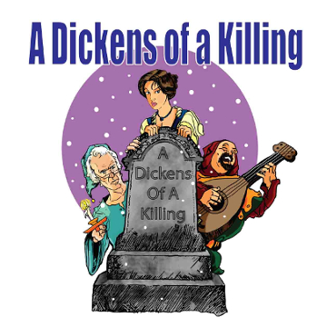"Artwork for Jest Murder Mystery Co. show ""A Dickens of a Killing"""