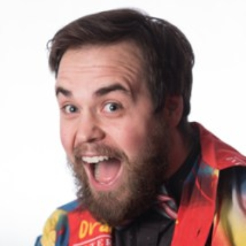 Headshot Image of Jest Murder Mystery Co. Entertainer Benjamin Witt