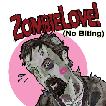 "Artwork for Jest Murder Mystery Co. show ""Zombie Love"""